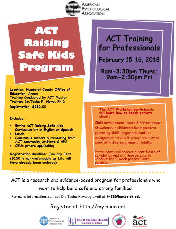 ACT Training for Professionals